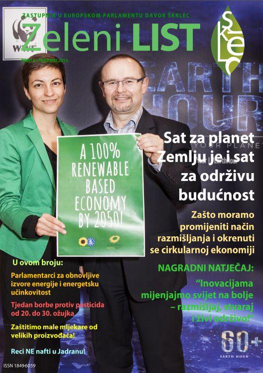 Zeleni list - travanj 2015