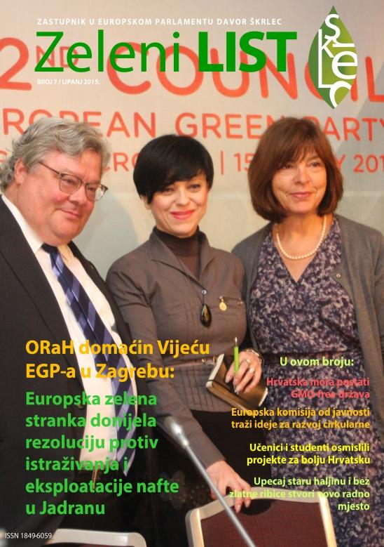 Zeleni list - lipanj 2015