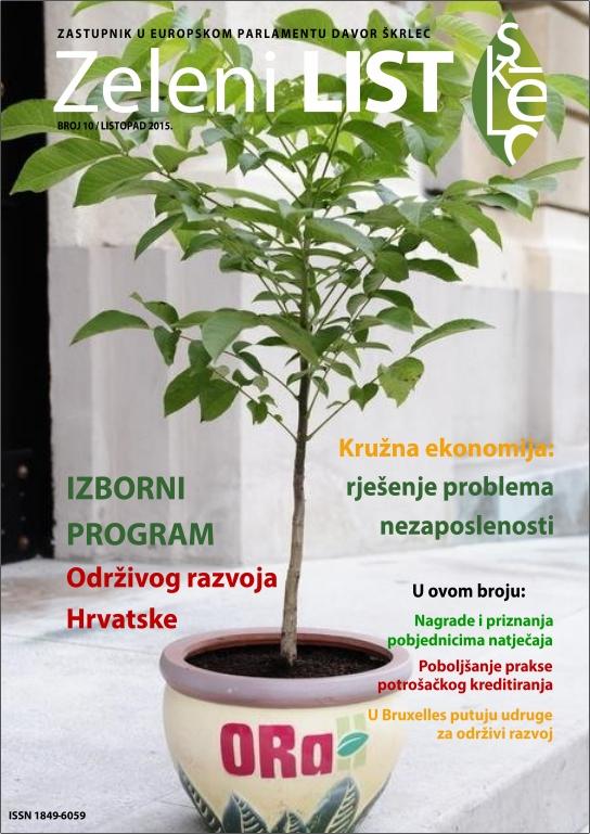 Zeleni list - listopad 2015