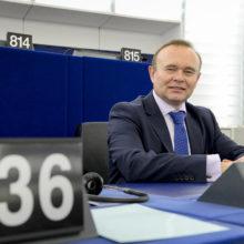 Davor SKRLEC in plenary session week 15 2016 in Strasbourg