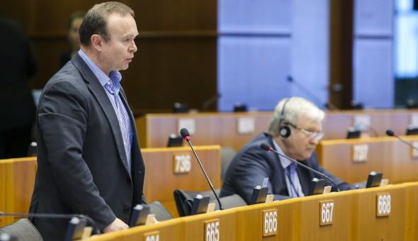 Plenary session week 17 2016 in Brussels. Joint debate ' Railway Package '