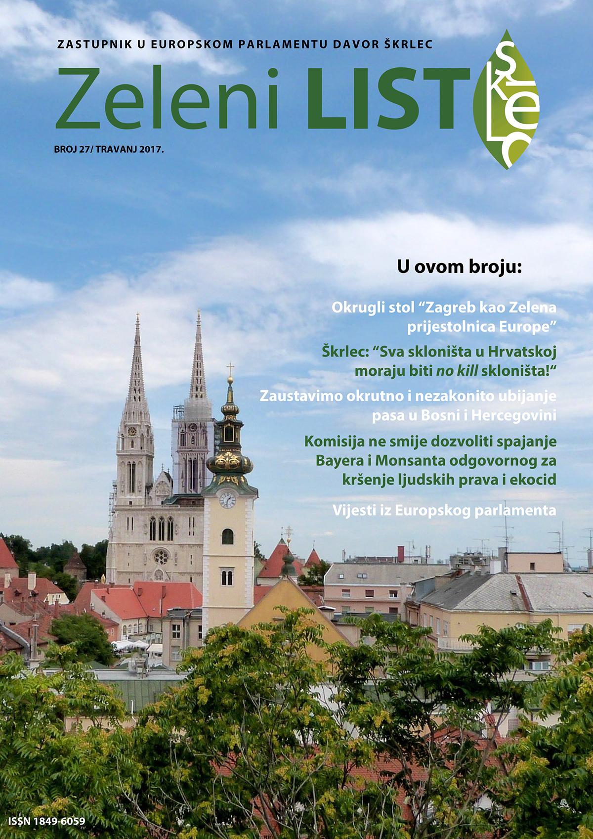 Zeleni list - travanj 2017
