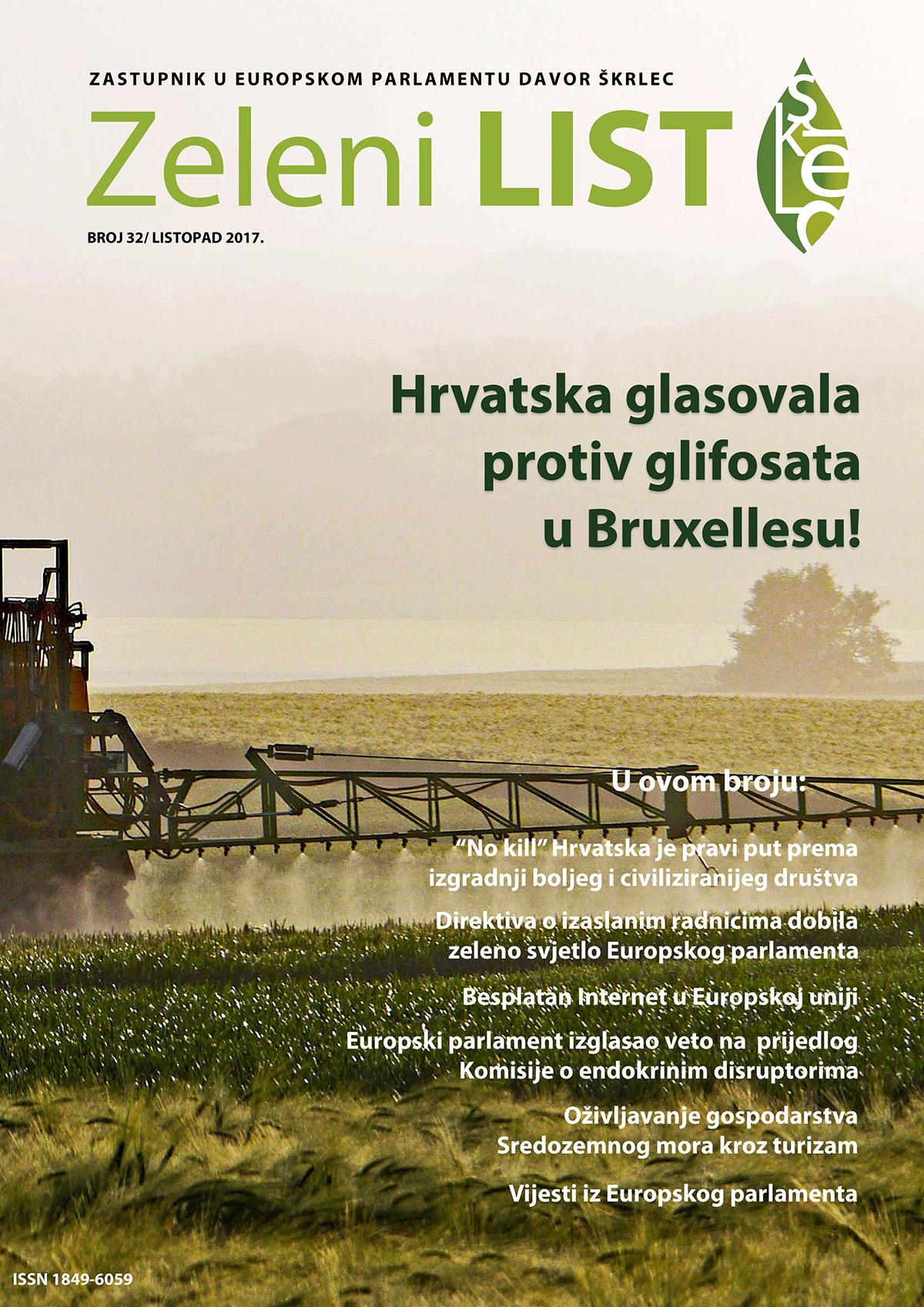 Zeleni list - listopad 2017