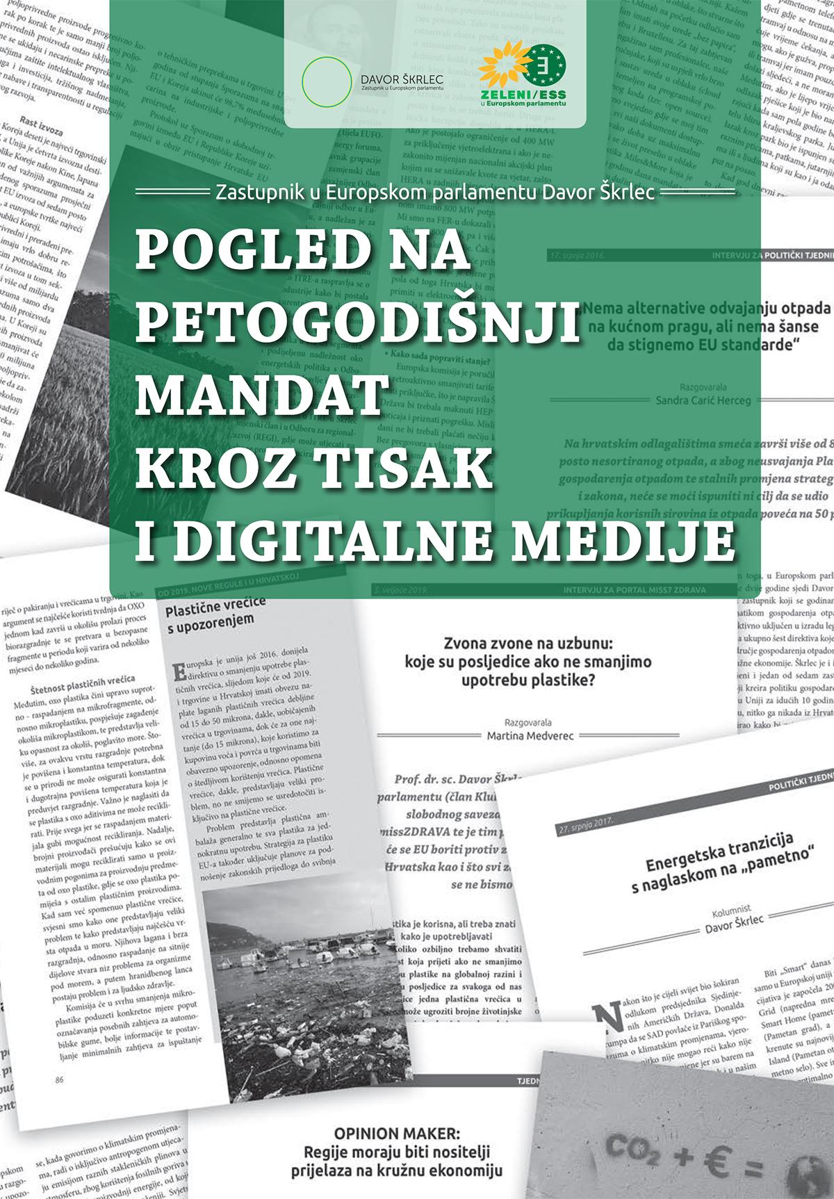 Davor Škrlec Pogled na petogodišnji mandat